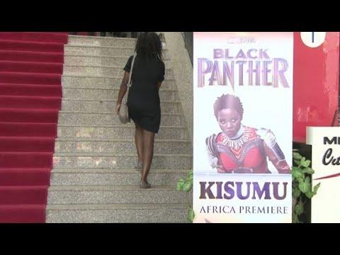 """Les Kenyans séduits par """"Black Panther"""""""