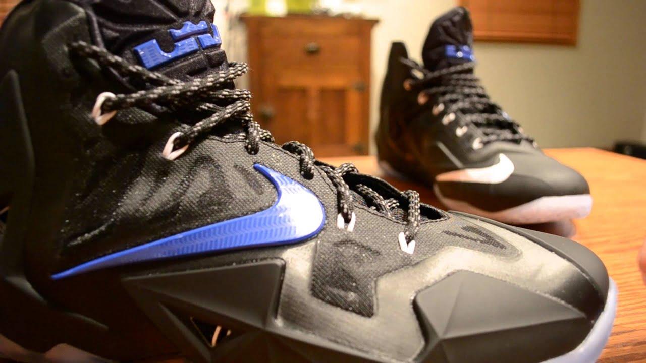 Nike LeBron 11 (XI) - NIKEiD - Space Jam - Black/White/Game Royal