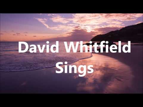 """David Whitfield - """"When You Lose The One You Love""""  (with lyrics)"""