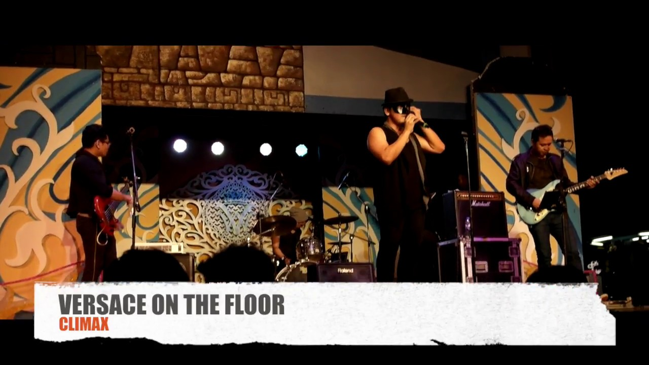 BRUNO MARS - Versace on the floor LIVE by CLIMAX