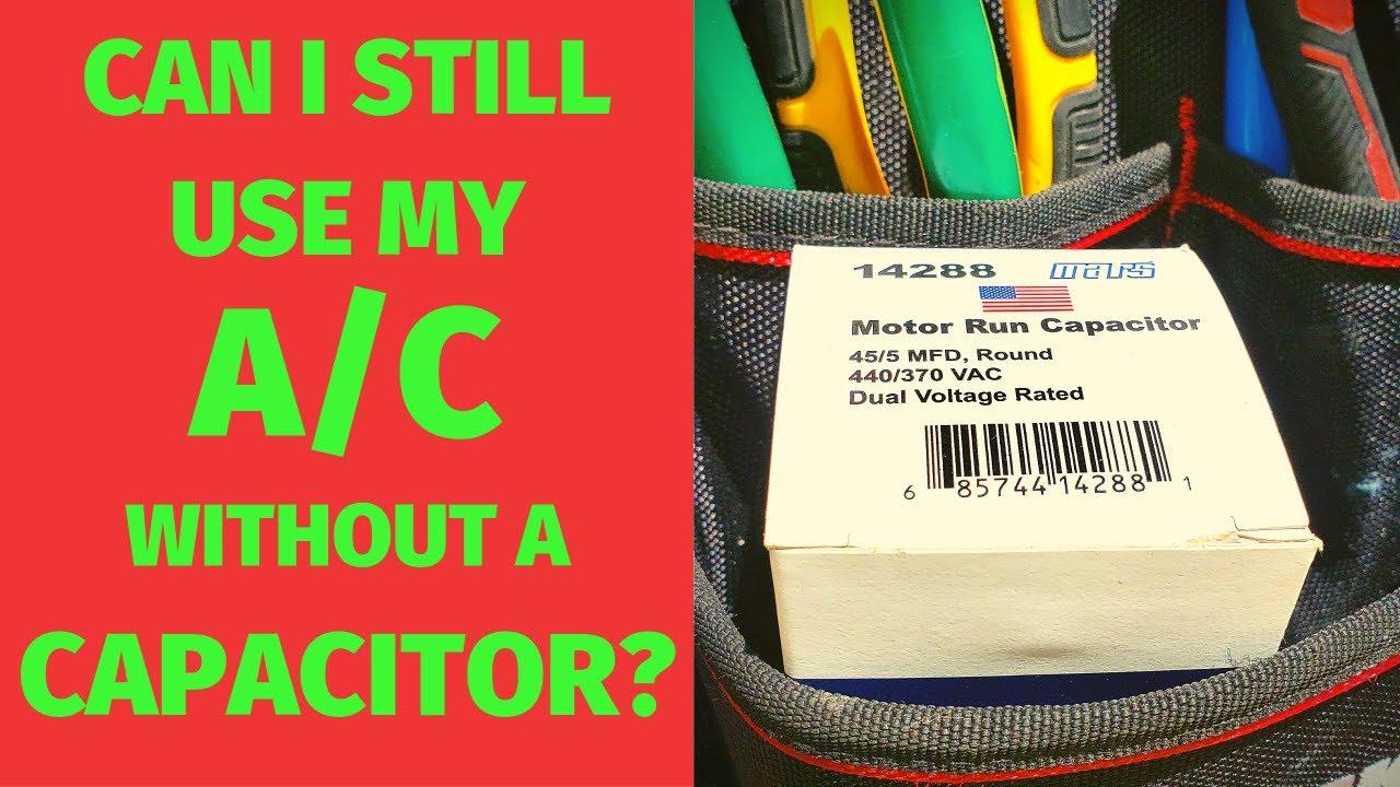 Help Replacing Ac Capacitor Hvac Manual Guide