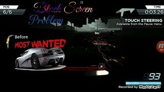 How to solve Need For Speed Most Wanted game black screen problem issue