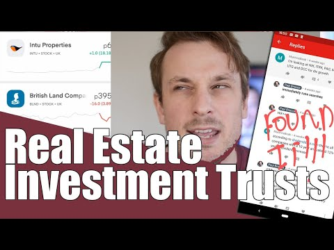 Buying Real Estate Investment Trusts on Trading 212 for a dividend investment portflio