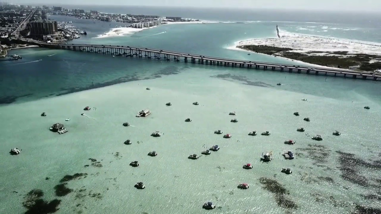 The Emerald Coast By Drone Destin Fl