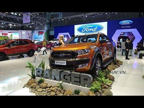 |VMS 2017| Dàn xe Ford với công nghệ tương lai ở triển lãm xe Việt Nam