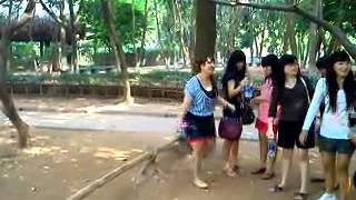 Indonesian Girls visiting Vietnam
