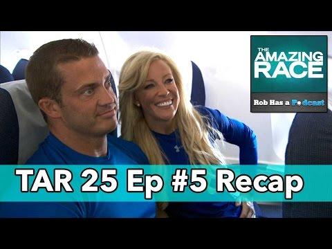 The Amazing Race 25 Episode 5 Recap | Friday, October 24, 2014