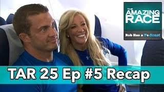The Amazing Race 25 Episode 5 Recap   Friday, October 24, 2014
