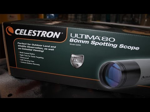 Celestron Ultima 80 Spotting Scope Review