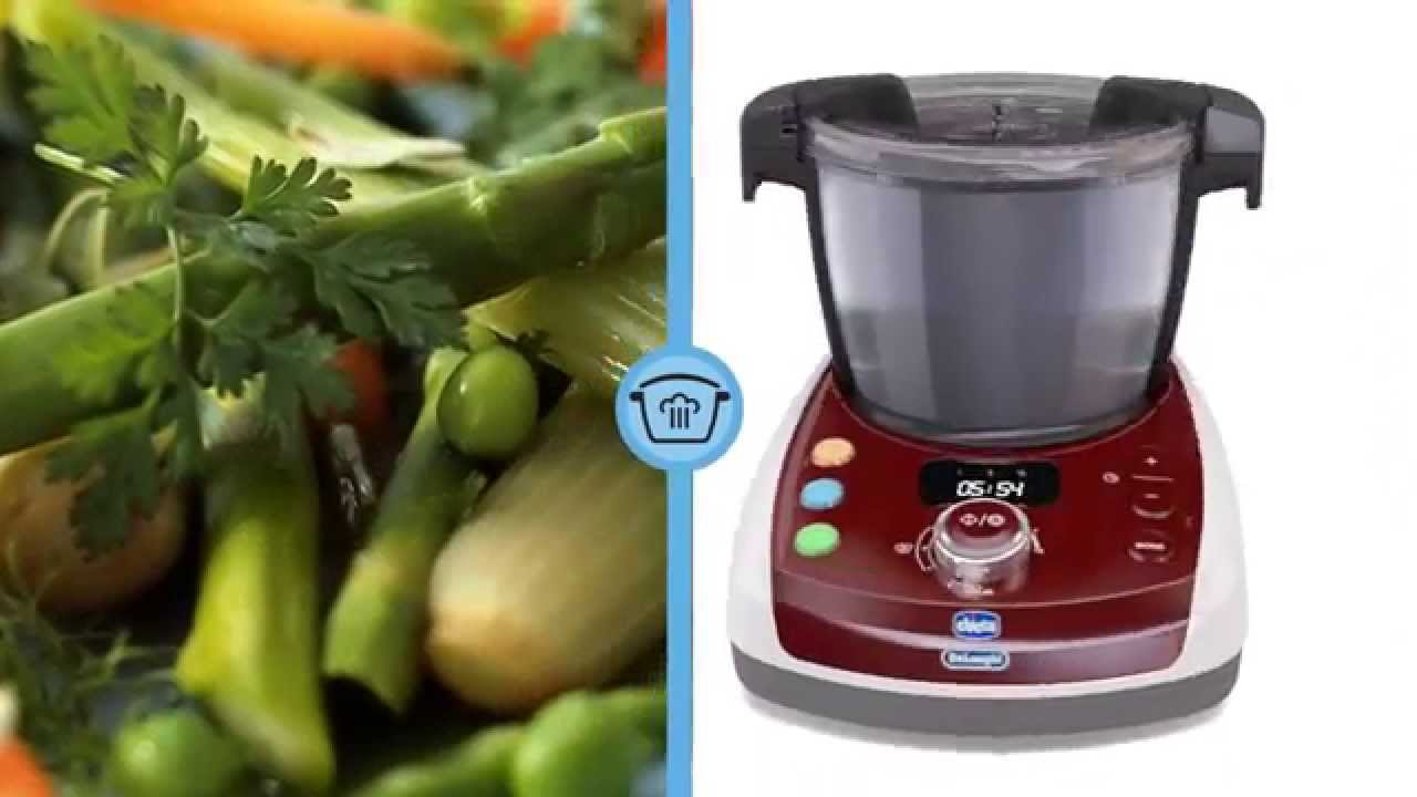 Baby Meal - Robot da Cucina Chicco De\'longhi & Me - YouTube