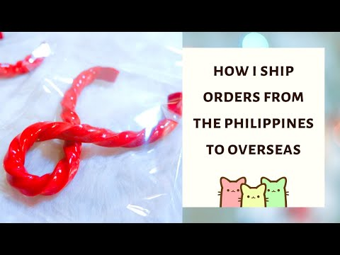 HOW I SHIP ORDERS FROM THE PHILIPPINES OVERSEAS | CHEAP + RELIABLE | (Tagalog)