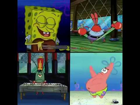 Spongebob: Bank Account / I got one two three four five six seven eight nine M's in my bank account