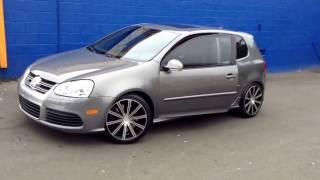 """2014 Volkswagen Golf 18""""wheels by kronik epiq 404 Rimtyme Durham"""
