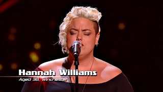 Superstar Hannah Williams Sings Stay With Me Baby Best Of Blind Auditions | The Voice UK