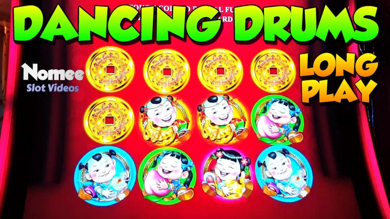 Dancing Drums Slot Machine Long Play With Bonuses And