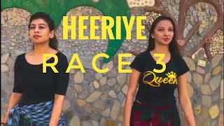 Heeriye song- Race 3 | Salman Khan, Jacqueline | Meet bros ft. deep money | Choreographed Akhil