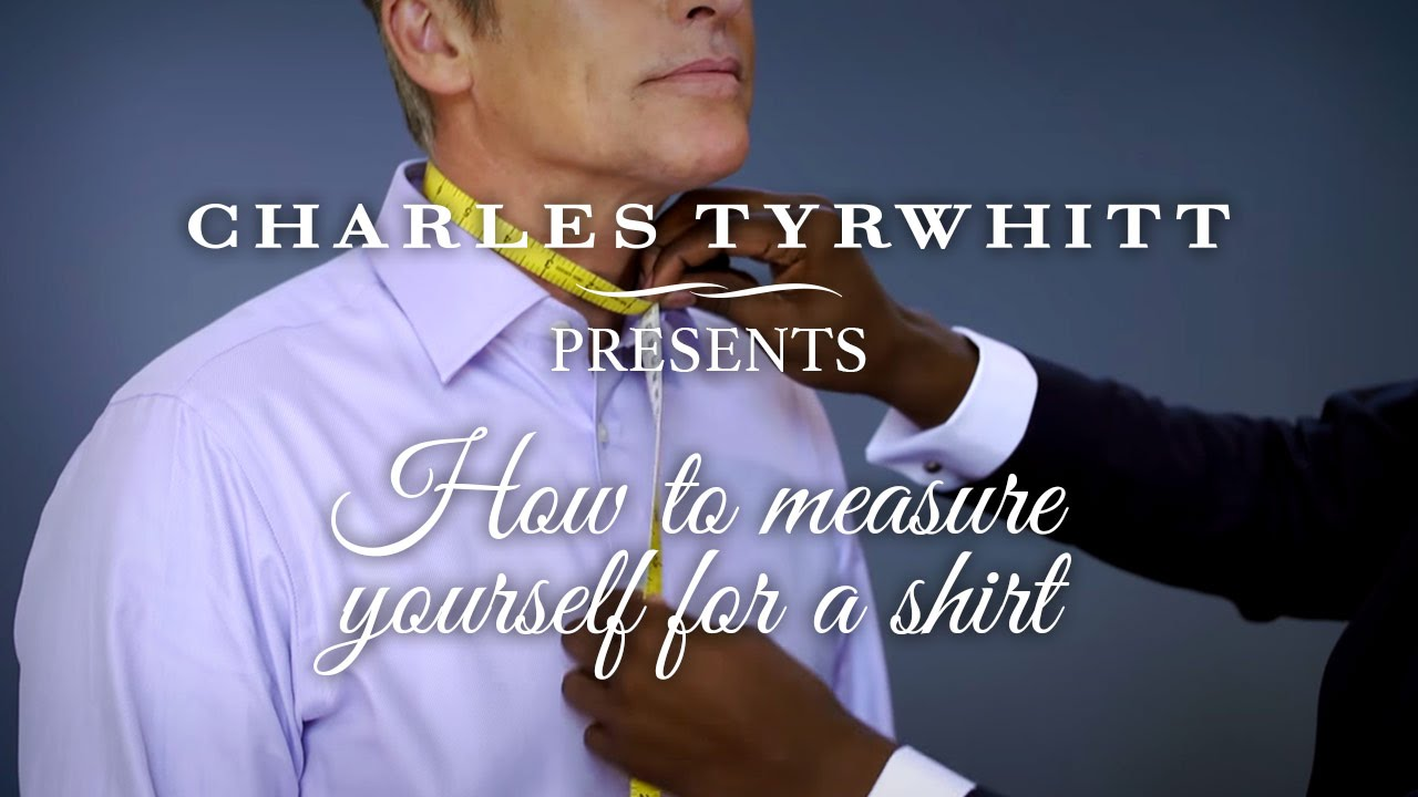 How To Measure Yourself For A Shirt Youtube