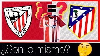 ¿El ATLÉTICO de Madrid es el ATHLETIC Club?