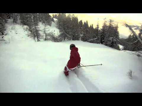 GoPro HD: Skiing Joni Teusch (Trailer)