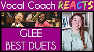 Vocal Coach Reacts to The Best Glee Duets