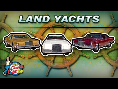 Classic Land Yachts | Lincoln Continentals