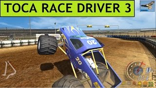 CRASH COMPILATION, TOCA RACE DRIVER 3 PC GAMEPLAY