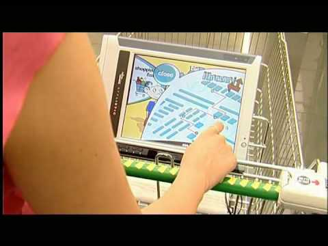 The GROCER smart shopping cart