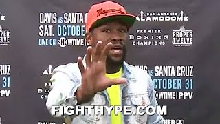 """CANNOT COMPARE LOMA TO ME"" - FLOYD MAYWEATHER CHECKS LOMACHENKO COMPARISONS; ANALYZES LOSS TO LOPEZ"