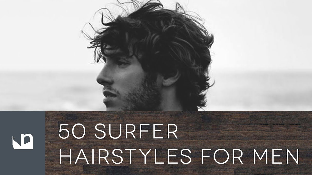 Beautiful 50 Surfer Hairstyles For Men