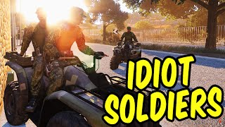 Idiot Soldiers - Arma Wasteland Funny Moments