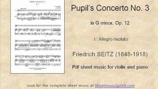 Seitz : Concerto No. 3, Op. 12 (1/3)