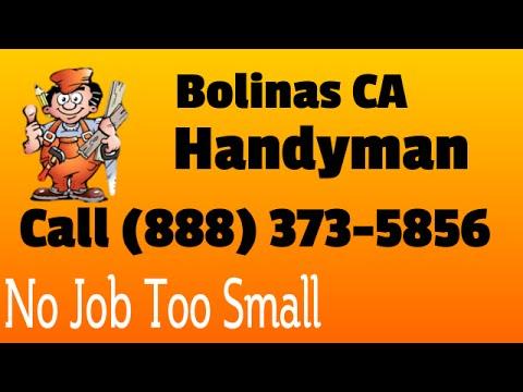Handyman Bolinas CA - Best Handyman Service in Bolinas Calif