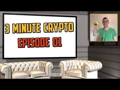3 Minute Crypto E01 - Bitcoin Price + Cryptocurrency Updates