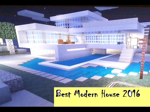 Minecraft Ps3 Xbox Console Easy Best Glass Modern House