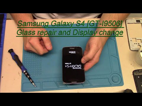 Samsung Galaxy S4 [GT-I9506] Glass Repair And Display Replacement