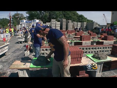 Builders Compete For Title Of 'Pennsylvania's Best Bricklayer'