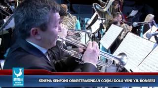 SİNEMA SENFONİ ORKESTRASINDAN COŞKU DOLU YENİ YIL KONSERİ