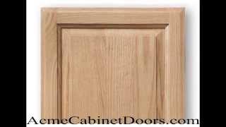 Unfinished Red Oak Raised panel Cabinet Door