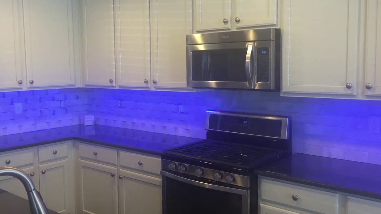 Super Bright LED RGB Undercabinet Lighting YouTube - Bright led kitchen lights