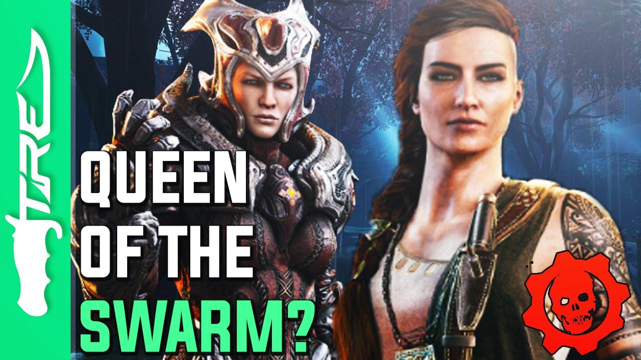 Gears Of War 4 The Queen Of The Swarm Gears Of War 4 Swarm Queen
