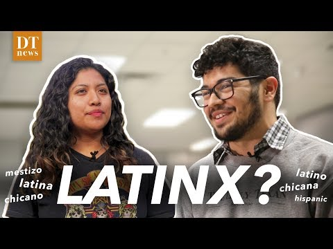 Latinx? Hispanic?... Which term should the Daily Texan use?
