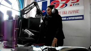 Chaguanas, Trinidad and Tobago December 6, 2011 .... U97.5 Hot Like Pepper