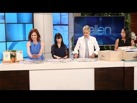 Ellen and Ellie Get Organized with Marie Kondo