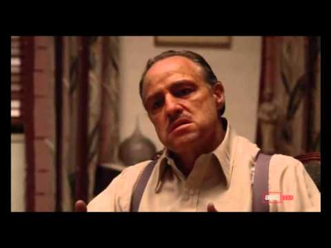 The Godfather - Deleted Scene - Not So Tough (2012 AMC HD version)