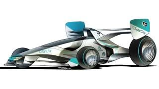 F1 Car Render