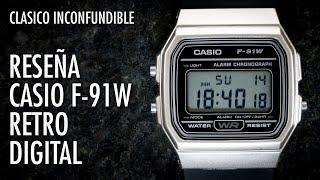Reseña Casio F91W Reloj Retro Clásico Digital en Español