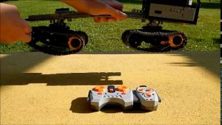 Lego Technic tracked vehicle (all terrain vehicle)