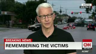 Anderson Cooper\'s emotional tribute to victims