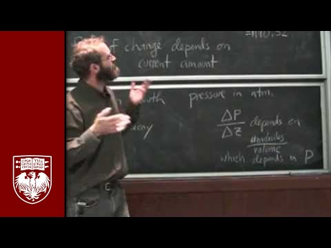 Lecture 8 -  What Holds the Atmosphere Up?