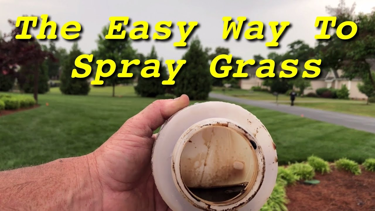 How To Use A Hose End Sprayer
